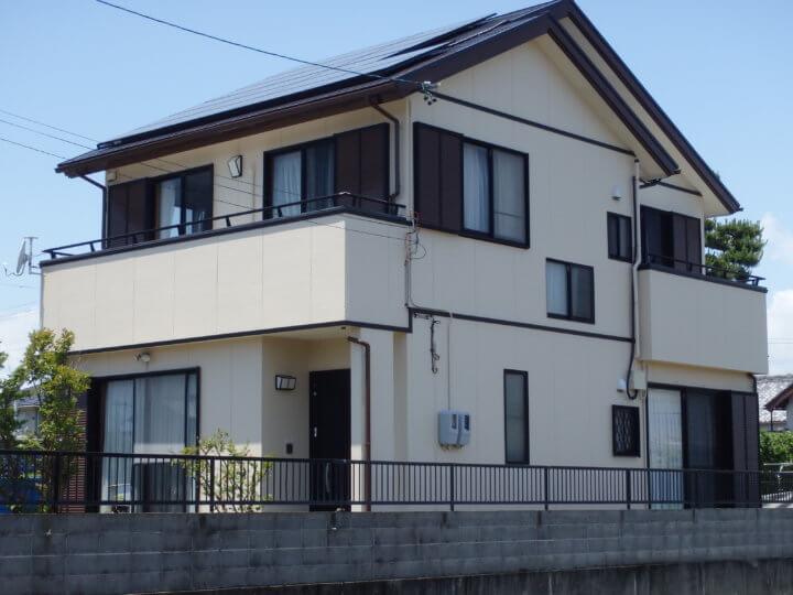 浜松市 IK様邸 外壁塗装工事|加藤塗装