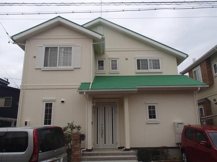 浜松市 AK様邸 外壁塗装・屋根塗装工事|加藤塗装