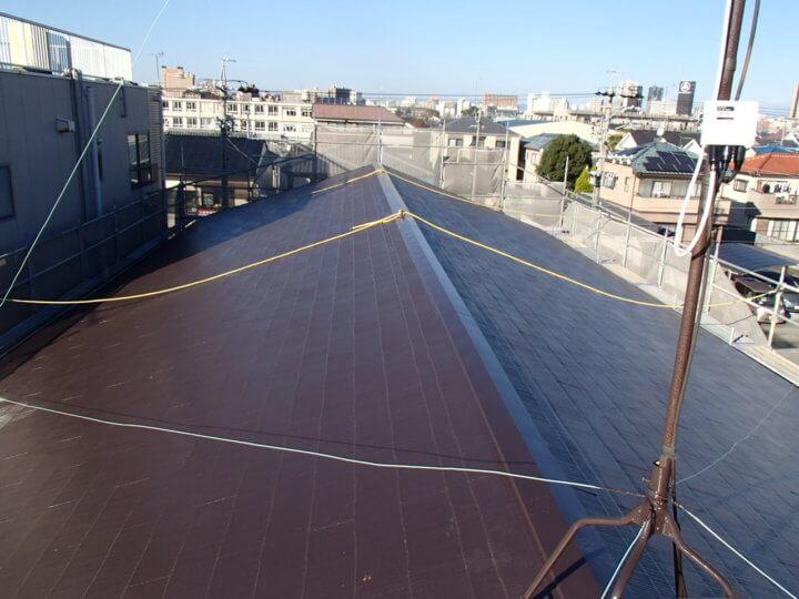 浜松市 KI様邸 屋根塗装工事|加藤塗装