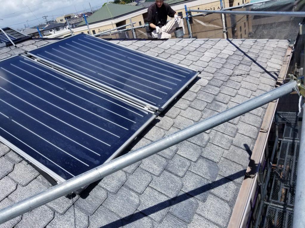 屋根 塗替え カラーベスト 南区 下塗り 浜松市外壁塗装屋根専門店 加藤塗装