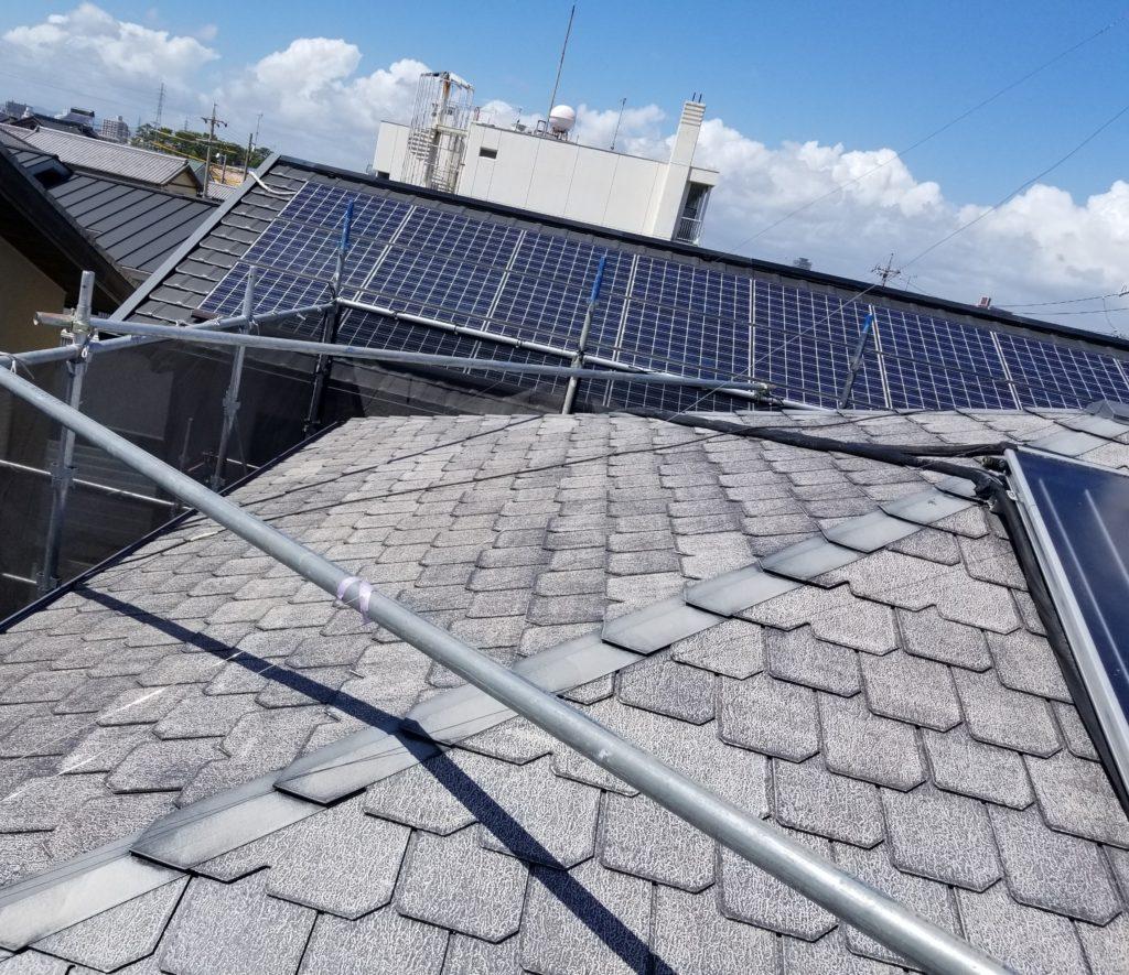 屋根 高圧洗浄 家 塗替え 浜松市外壁塗装屋根専門店 加藤塗装