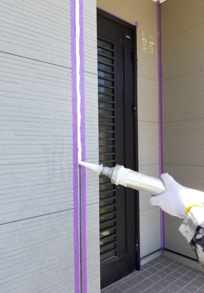シーリング コーキング 打替え 南区 静岡 浜松市外壁塗装 屋根専門店 加藤塗装