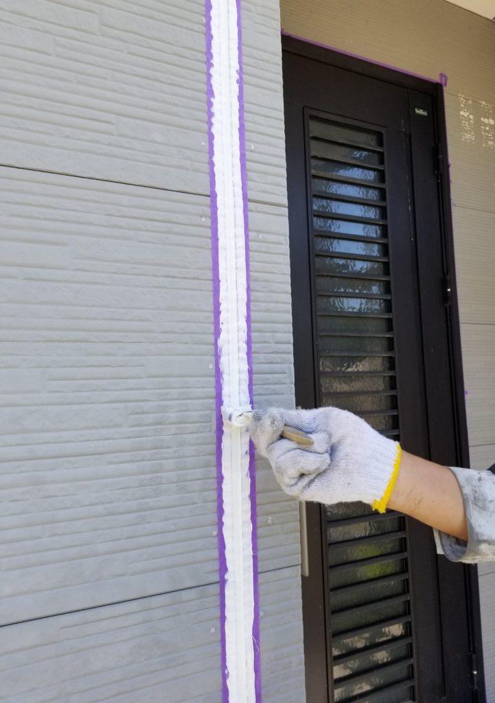 シーリング コーキング 一戸建て住宅 家 リフォーム リノベーション 夏 南区 静岡 浜松市外壁塗装 屋根専門店 加藤塗装