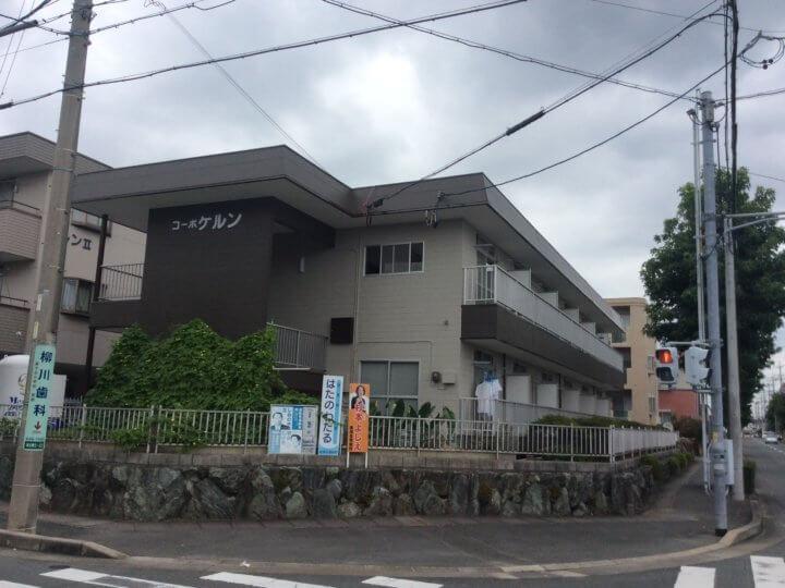 浜松市中区高丘町にてアパート外壁塗装が完成しました|浜松市外壁塗装屋根専門店の加藤塗装