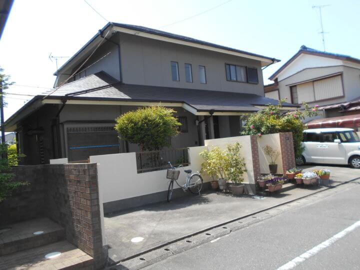 浜松市 I様邸 外壁塗装・屋根塗装工事|加藤塗装