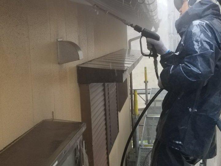 高圧洗浄 外壁 浜松市外壁塗装屋根専門店の加藤塗装