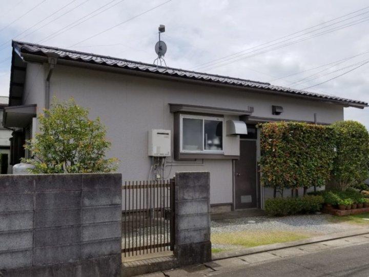 浜松市南区にて平屋建て戸建て住宅の外壁塗装完成しました。|浜松市外壁塗装屋根専門店の加藤塗装