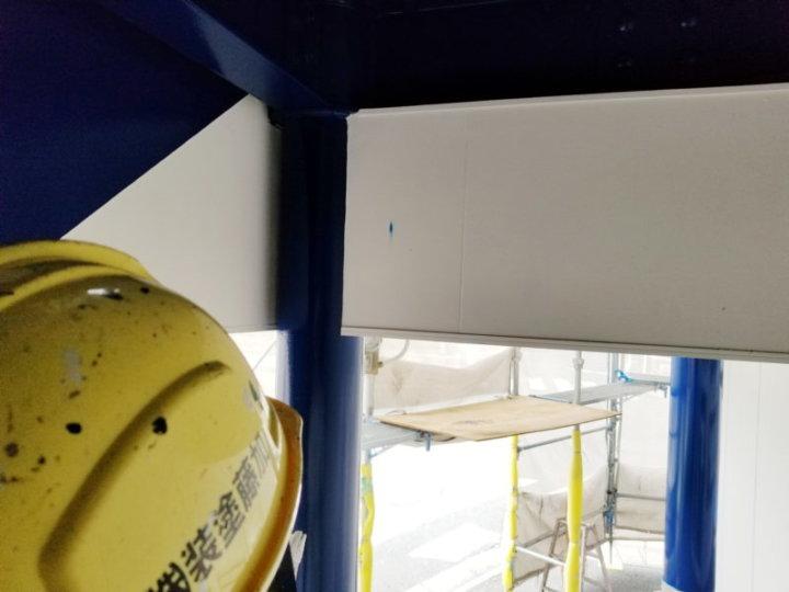 タッチアップ塗装 工事 ビル 塗替え 浜松市外壁塗装屋根専門店の加藤塗装