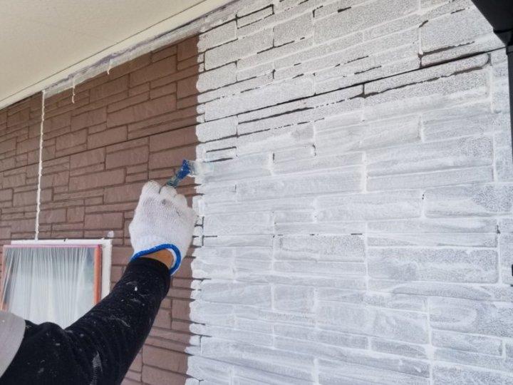 外壁 下塗り塗装