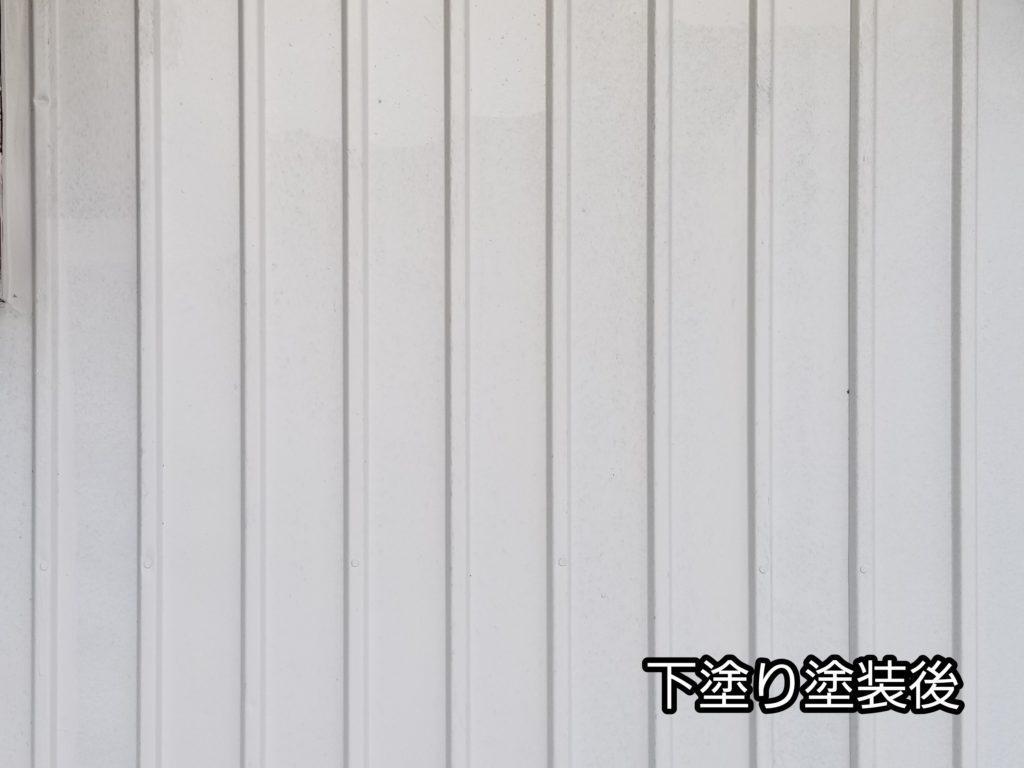 借家 塗替え 下塗り 錆止め トタン 浜松市外壁塗装屋根専門店の加藤塗装