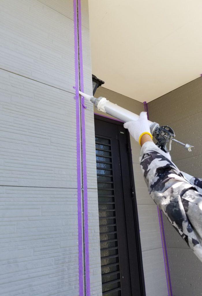 シーリング コーキング 打替え 一戸建て住宅 浜松市外壁塗装屋根専門店 加藤塗装
