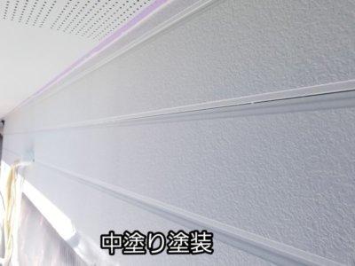 サイディング 中塗り塗装 エスケープレミアムシリコン塗料 浜松市外壁塗装屋根専門店 加藤塗装