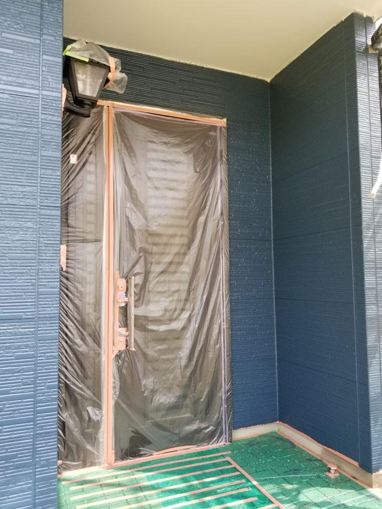 アステックペイントジャパン シリコンフレックスⅡ マウンテンブルー 浜松市外壁塗装 屋根専門店 加藤塗装