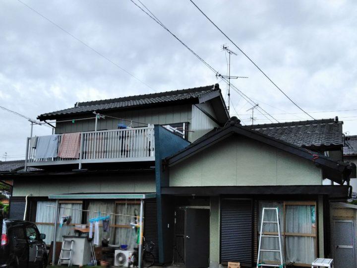 浜松市南区若林町U様邸 外壁塗装、屋根塗装、防水工事が完成しました!浜松市南区 外壁塗装屋根専門店 加藤塗装