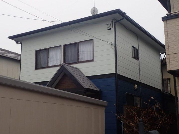 上手な外壁配色はこちら!難しい3色使いをカラーシミュレーションで見事に成功! 浜松市南区 外壁塗装 屋根専門店 加藤塗装
