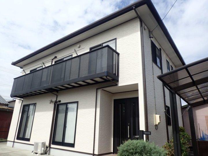 浜松市南区にて超耐久性塗料スーパーセラタイトFにて施工完了しました|浜松市外壁塗装屋根専門店の加藤塗装