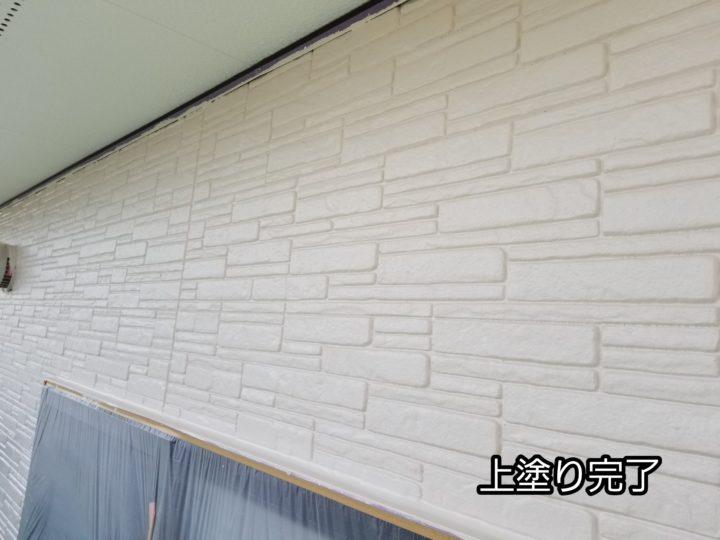 外壁上塗り塗装 完成