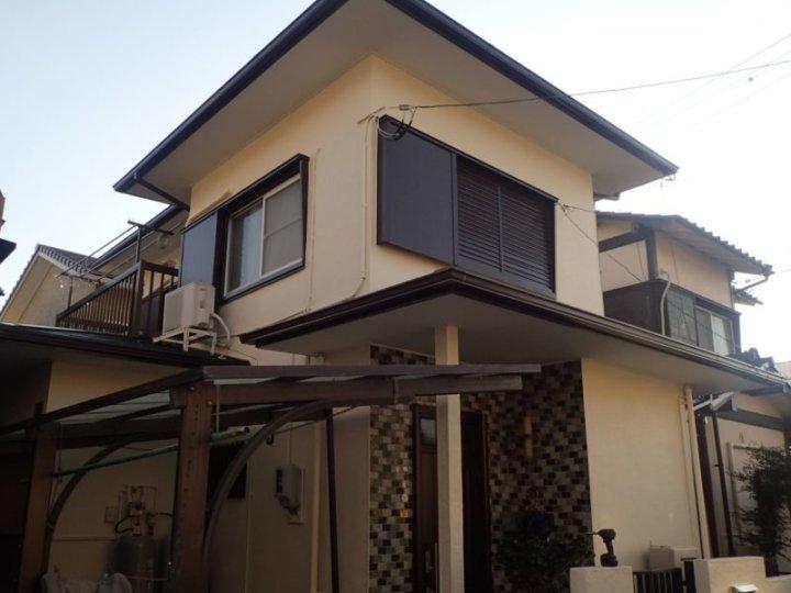 浜松市東区長鶴町にて屋根塗装外壁塗装完成しました|浜松市外壁塗装屋根専門店の加藤塗装