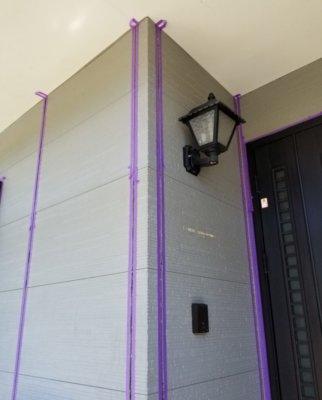 シーリング コーキング 打替え 増し打ち 養生 やり方 方法 外壁改修工事 築10年 浜松市南区中区 加藤塗装