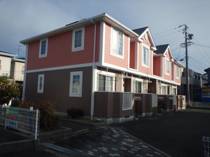 浜松市南区本郷町アパートにてカラーシミュレーション後、屋根塗装外壁塗装を実施|浜松市外壁塗装屋根専門店の加藤塗装