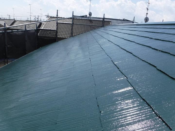 浜松市西区篠原町にて遮熱型塗料にて屋根塗装完了しました。|浜松市外壁塗装屋根専門店の加藤塗装