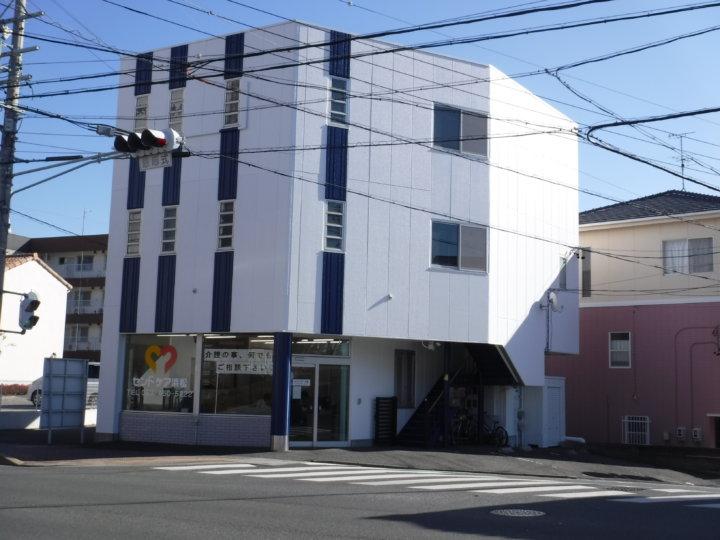 浜松市 中区 店舗付き住宅完成     外壁塗装 屋上防水