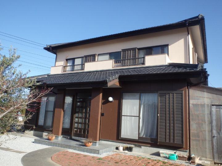 浜松市南区三新町で外壁塗装ツートン仕上げ完成しました。|浜松市外壁塗装屋根専門店の加藤塗装