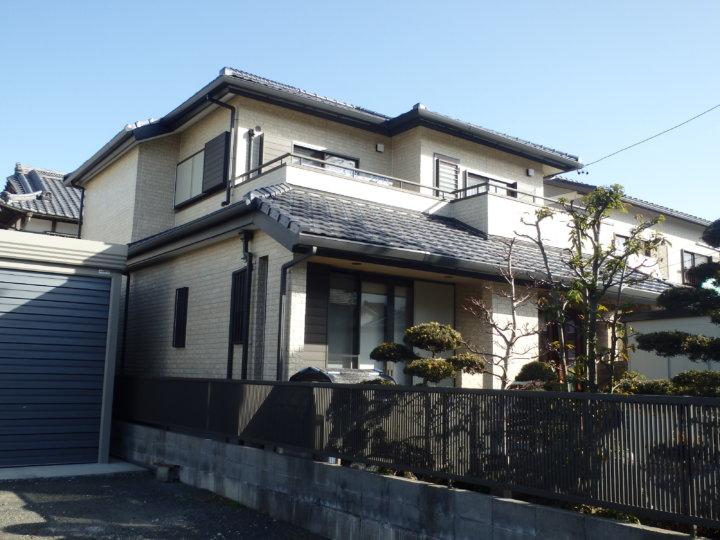 浜松市南区本郷町で意匠性サイディングへクリヤーでの外壁塗装完成しました。|浜松市外壁塗装屋根専門店の加藤塗装