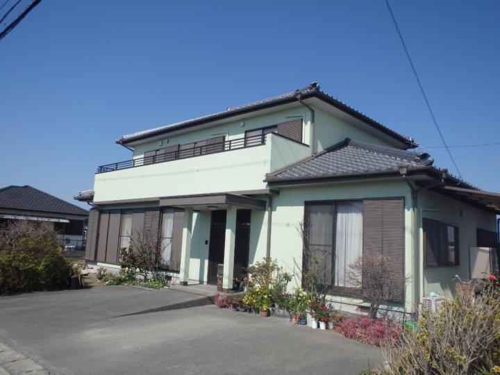 浜松市南区中田島町にてSK化研の無機ハイブリット塗料にて施工完了しました。|浜松市外壁塗装屋根専門店の加藤塗装
