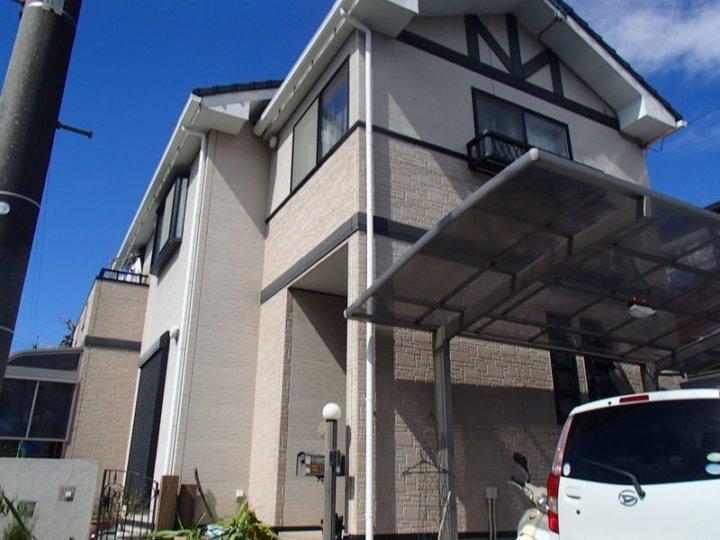 浜松市東区で無機ハイブリット塗料にて外壁塗装とシーリング改修施工完了しました。|浜松市外壁塗装屋根専門店の加藤塗装