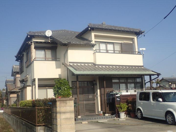 浜松市南区にて遮熱形外壁塗料にて外壁塗装付帯塗装完了しました。|浜松市外壁塗装屋根専門店の加藤塗装