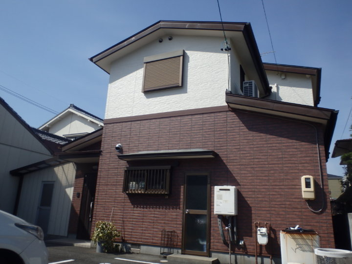 浜松市中区海老塚にて超低汚染遮熱型塗料にて外壁塗装及びシーリング改修工事完了しました。|浜松市外壁塗装屋根専門店の加藤塗装