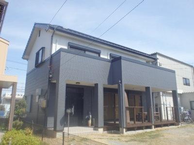 モノトーンの家 浜松市外壁塗装 専門店 屋根塗装 防水工事 見積無料 加藤塗装