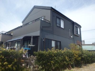浜松市南区鼠野町にて、無機ハイブリット塗料にて外壁塗装及びシーリング改修完成!浜松市外壁塗装屋根専門店の加藤塗装