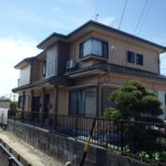 浜松市南区三島町Uさま邸外壁塗装完成。浜松市外壁塗装屋根塗装専門店|加藤塗装
