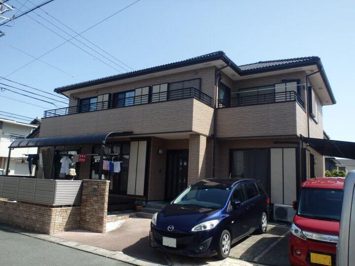 浜松市中区富塚にて無機ハイブリットクリヤーにて外壁塗装完成。浜松市外壁塗装屋根塗装専門店|加藤塗装