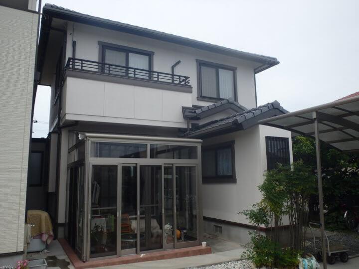 浜松市南区中田島町にて外壁塗装完成しました。浜松市外壁塗装専門店 加藤塗装