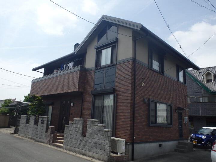 浜松市東区上新屋町にて外壁塗装完成しました。浜松市外壁塗装専門店|加藤塗装