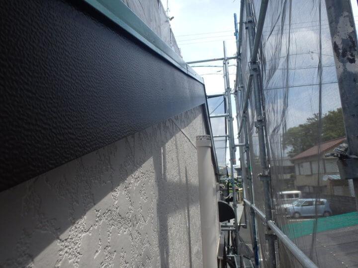破風&外壁塗装完成