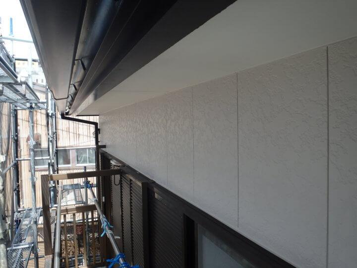 外壁&破風塗装完成