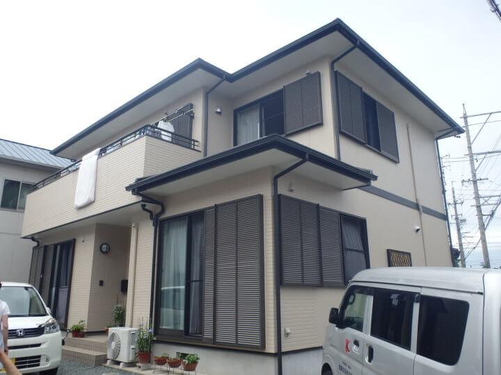 浜松市南区渡瀬町にて外壁塗装完成しました。浜松市外壁塗装専門店 加藤塗装