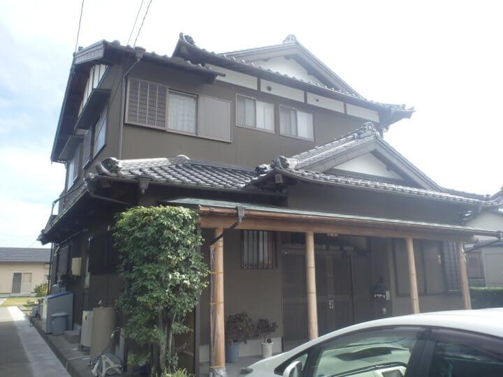 磐田市西平松にて外壁塗装完成しました。浜松市外壁塗装専門店|加藤塗装