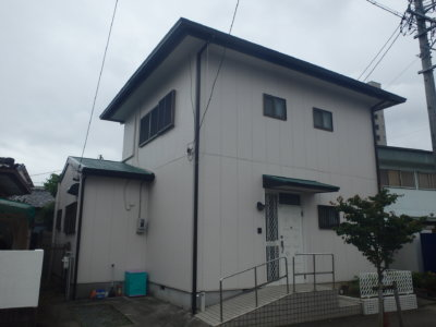 浜松市中区八幡町にて屋根塗装・外壁塗装完成しました。