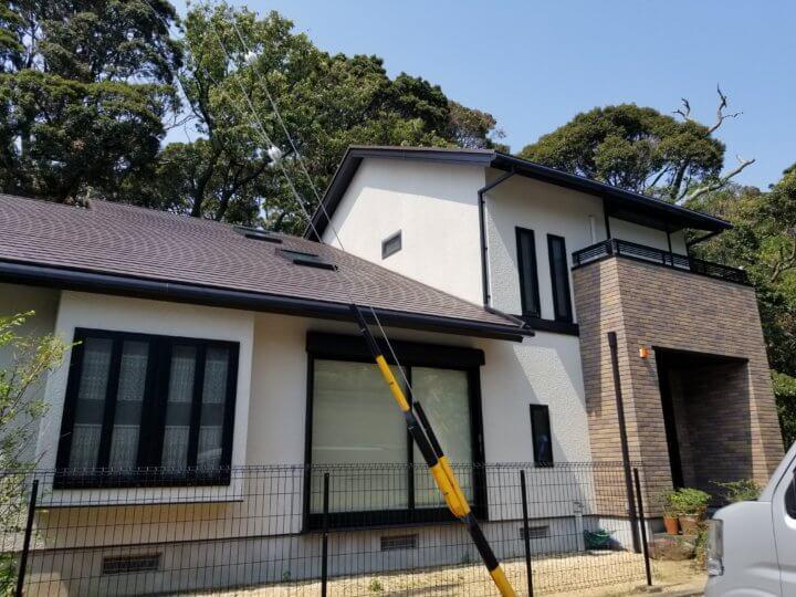 浜松市中区広沢町にて外壁塗装完成。浜松市外壁塗装専門店 加藤塗装