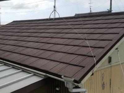 浜松市南区MM様屋根改修工事完成しました。浜松市外壁塗装専門店|加藤塗装