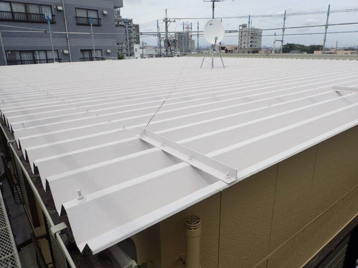 屋根GAINA塗装完成