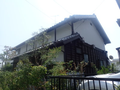 浜松市西区大平台にて古民家外壁塗装完成。浜松市外壁塗装専門店|加藤塗装