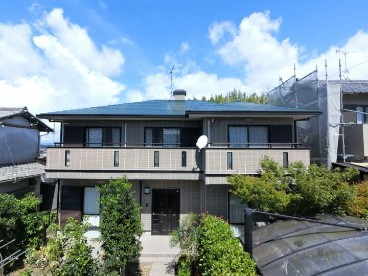 浜松市西区古人見にて屋根塗装外壁塗装完成。浜松市外壁塗装専門店|加藤塗装