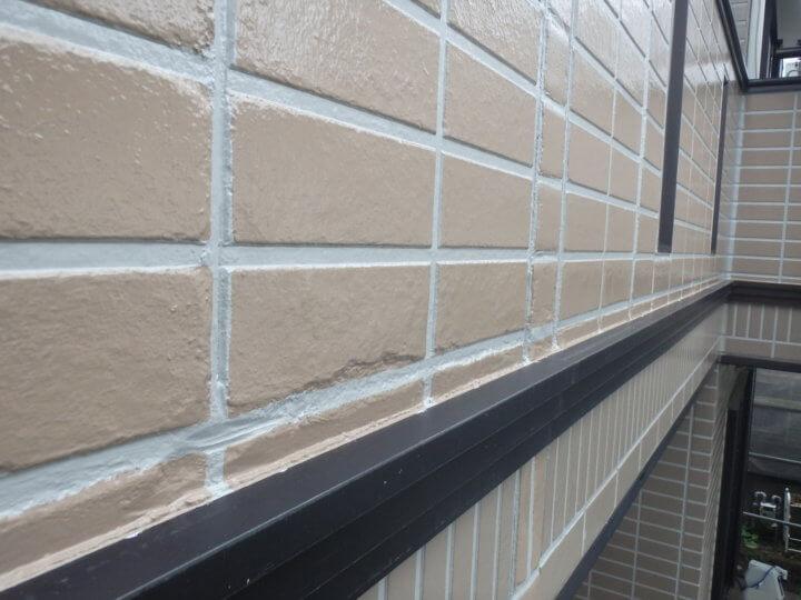 外壁補修塗装完了