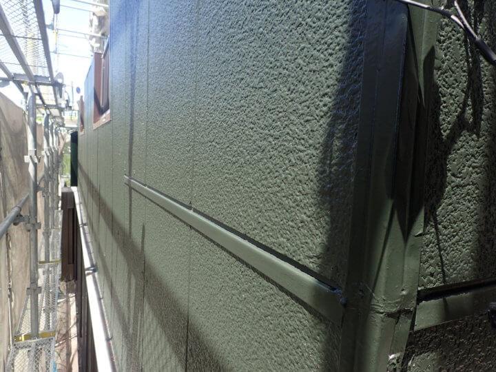 住居棟外壁塗装完了
